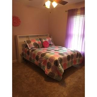 Mi Zone Audrina Purple Reversible Comforter Set
