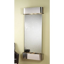 Adagio Inspiration Falls Wall Fountain Silver Mirror Stainless Steel - IFR2040