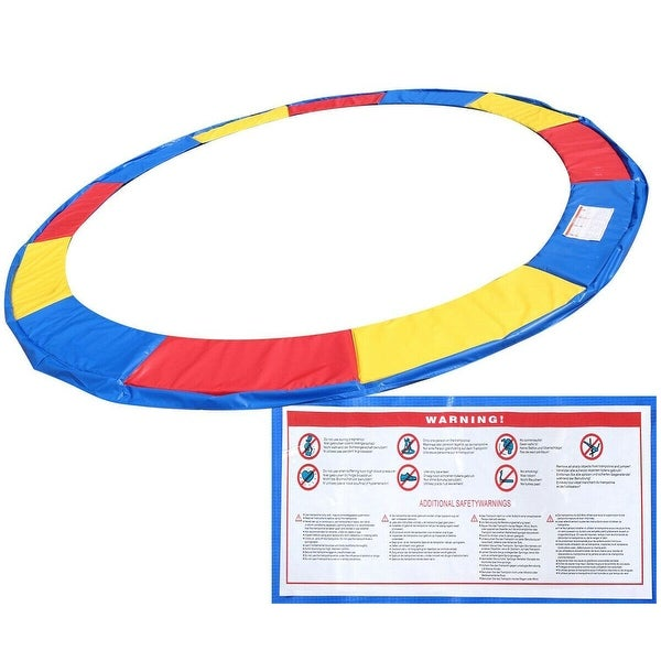 14 Ft Trampoline Safety Pad Epe Foam: Shop Gymax 14 FT Trampoline Safety Pad EPE Foam Spring