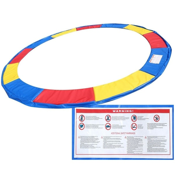 14 Ft Trampoline Safety Pad Epe Foam Spring Cover Frame: Shop Gymax 14 FT Trampoline Safety Pad EPE Foam Spring