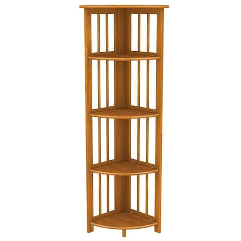 Stony Edge Corner Folding Bookcase