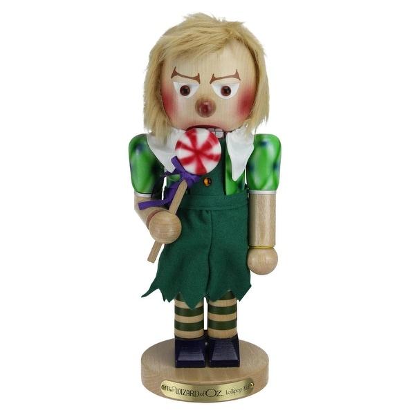 "14"" Steinbach Wizard of Oz Lollipop Munchkin Limited Edition Nutcracker #ES1892 - green"