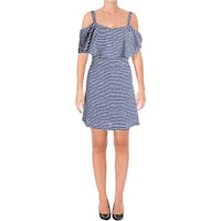 Shop Signature By Robbie Bee Womens Petites Semi-Formal Dress Lace ... 5f0acd523