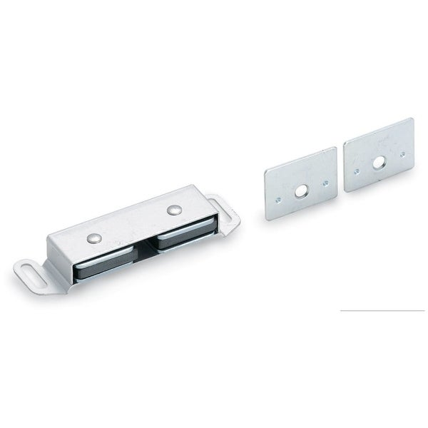Amerock BP33772 Double Magnetic Catch from the Functional Collection - Aluminum - N/A