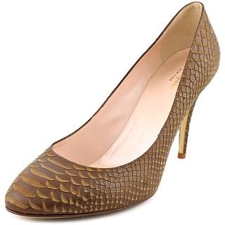 Kate Spade Dani   Round Toe Leather  Heels