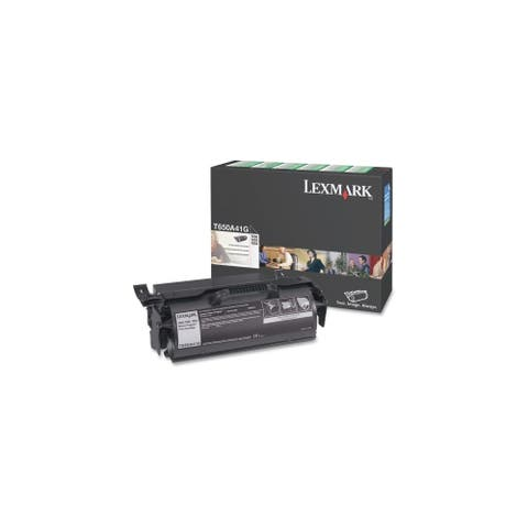 Lexmark T650A41G Lexmark Return Program Black Toner Cartridge - Laser - 7000 Page - Black
