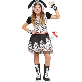 Tween Girls Spotted Sweetie Dalmatian Costume
