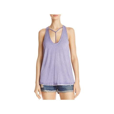 We The Free Womens Amelia Tank Top Cut-Out Sleeveless