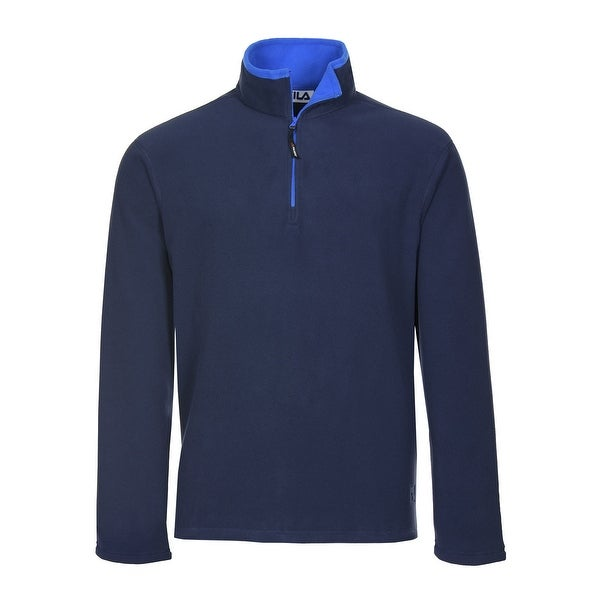386acc9e774a3 Fila Performance Polartec Fleece Quarter Zip Sweatshirt Navy Blue XX-Large