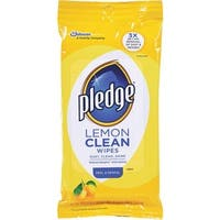 Pledge 24Ct Lemon Polish Wipes