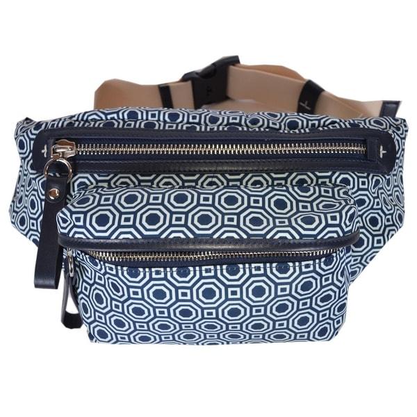 b0ceeae8b079 Shop Tory Burch Octagon Print Nylon Waist Bag Fanny Pack Sling Purse ...