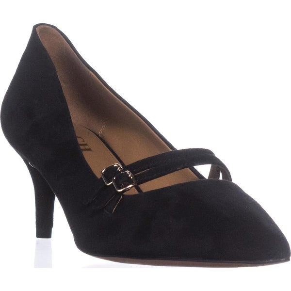 COACH London Mary Jane Dress Pumps, Black