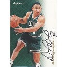 David Wesley Boston Celtics 1996 Skybox Autographic Autographed Card Nice Card This item comes wi