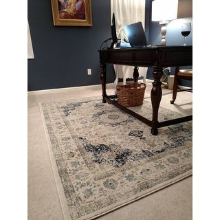 Nuloom Traditional Persian Vintage Fancy Area Rug 5 X 7