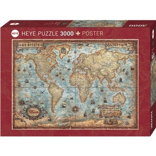 World 3000 Piece Puzzle