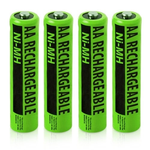 Replacement VTech i5867 NiMH AA Cordless Phone Battery - 1400mAh / 1.2V (4 Pack)