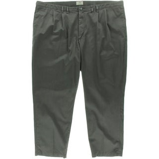 Lee Mens Big & Tall Twill Relaxed/Custom Fit Chino Pants - 46/34