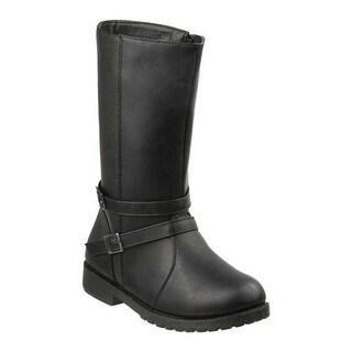 Josmo Girls' O-80475M Mid-Calf Boot Black