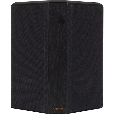 "Klipsch Reference Premiere Dual 5-1/4"" 400-Watt Passive 2-Way Surround Channel Speakers (Pair) - Ebony"