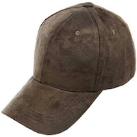 Mad Style Green Faux Suede Baseball Hat