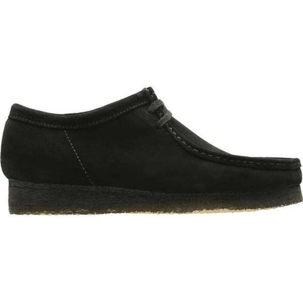 M Wallabee Boot Black Suede