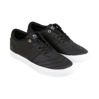 HUF Galaxy Mens Black Suede Lace Up Sneakers Shoes
