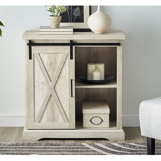 Link to The Gray Barn Wind Gap Sliding Barn Door Console Similar Items in Living Room Furniture
