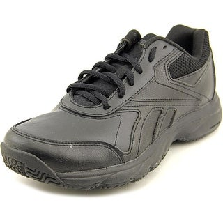 Reebok Work N Cushion 2.0 Round Toe Leather Work Shoe