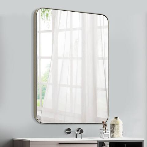 Mirror Trend Rathburn Metal Venetian Wall Mounted Mirror