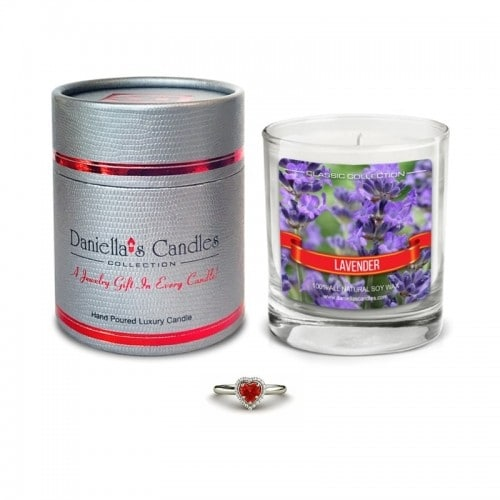 Daniella's Candles Lavender Jewelry Candle - Surprise Me