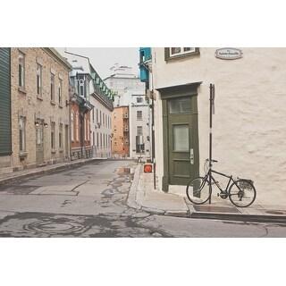 Road & Bike Photograph Art Print