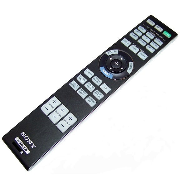 OEM Sony Remote Control Originally Shipped With: VPL-VW1000ES, VPL-VW1100ES, VPLVW1000ES, VPLVW1100ES