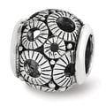 Sterling Silver Reflections Filigree Circles Bead (4mm Diameter Hole) - Thumbnail 0