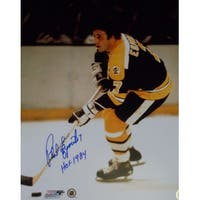 Phil Esposito signed Boston Bruins 16x20 Photo HOF 1984