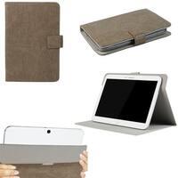 """JAVOedge Rugged Vintage Universal 9""""-10"""" Tablet Case for iPad Air, Samsung Note, Tab 3, Nook HD 9, Nexus 10 (Brown)"""