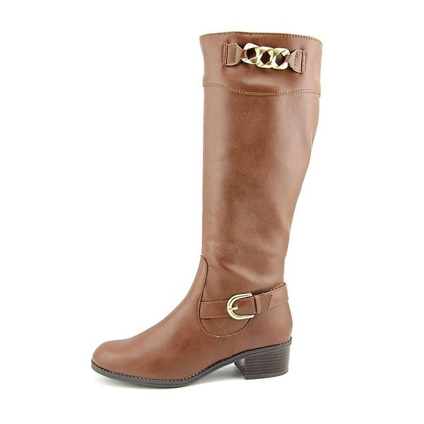 Karen Scott Womens Donnely Closed Toe Mid-Calf Fashion Boots