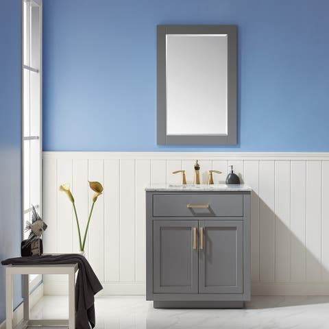 Altair Design Ivy Single Bathroom Vanity Set with Mirror