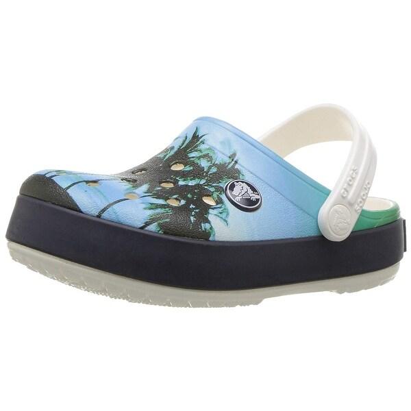 206fff7c0 Shop Crocs Kids  Crocband Graphic K Clog - Free Shipping On Orders ...