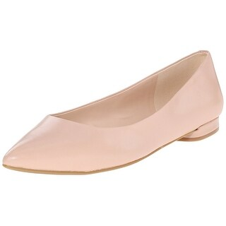 Nine West Women's Onlee Leather Ballet Flat