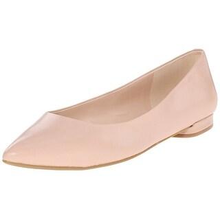 Nine West Women's Onlee Leather Ballet Flat