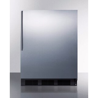 Summit CT66BBIHV 24 Inch Wide 5.1 Cu. Ft. Counter Depth Refrigerator