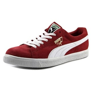 Puma Clyde Script Suede Fashion Sneakers