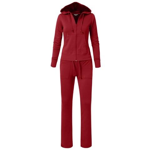 NE PEOPLE Womens Hoodie Sweatpants Set ORDER A SIZE UP [NEWWTS01]
