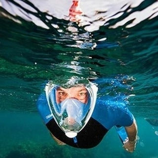 Full-Face Snorkel Mask with Camera Mount