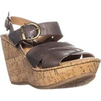 B.O.C Womens Emmy Quater Open Toe Casual Ankle Strap Sandals