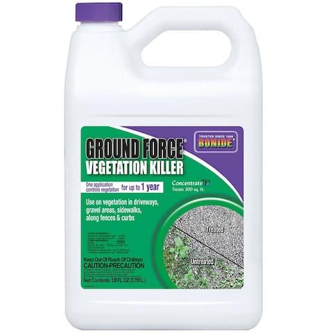 Bonide 5131 Ground Force Vegetation Killer, Concentrate, 1 Gallon