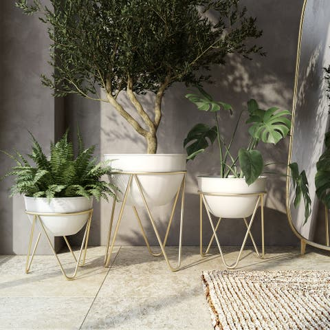 Drea Modern Planters (Set of 3)