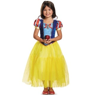 Disguise Disney Snow White Deluxe Child Costume - Blue/Yellow
