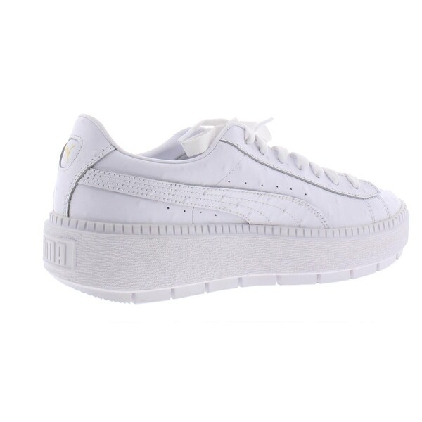 Shop Puma Womens Platform Trace Ostrich Fashion Sneakers ...