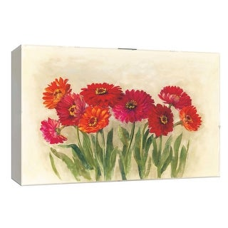 """PTM Images 9-153608  PTM Canvas Collection 8"""" x 10"""" - """"Tickled Pink"""" Giclee Flowers Art Print on Canvas"""